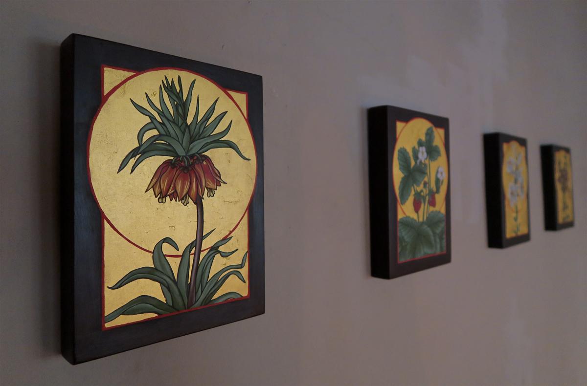 Pflanzen-Ikonen von Jenny Dam