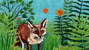Der Fuchs | Tschitrakarna, das vornehme Kamel