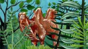 Das Kamel | Tschitrakarna, das vornehme Kamel