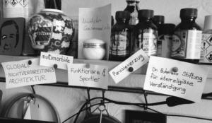 Im Atelier: Wortsammlung