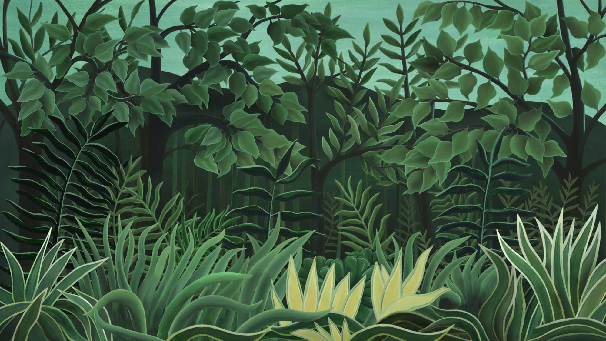 Szenenbild aus dem Zeichentrickfilms Tschitrakarna, das vornehme Kamel