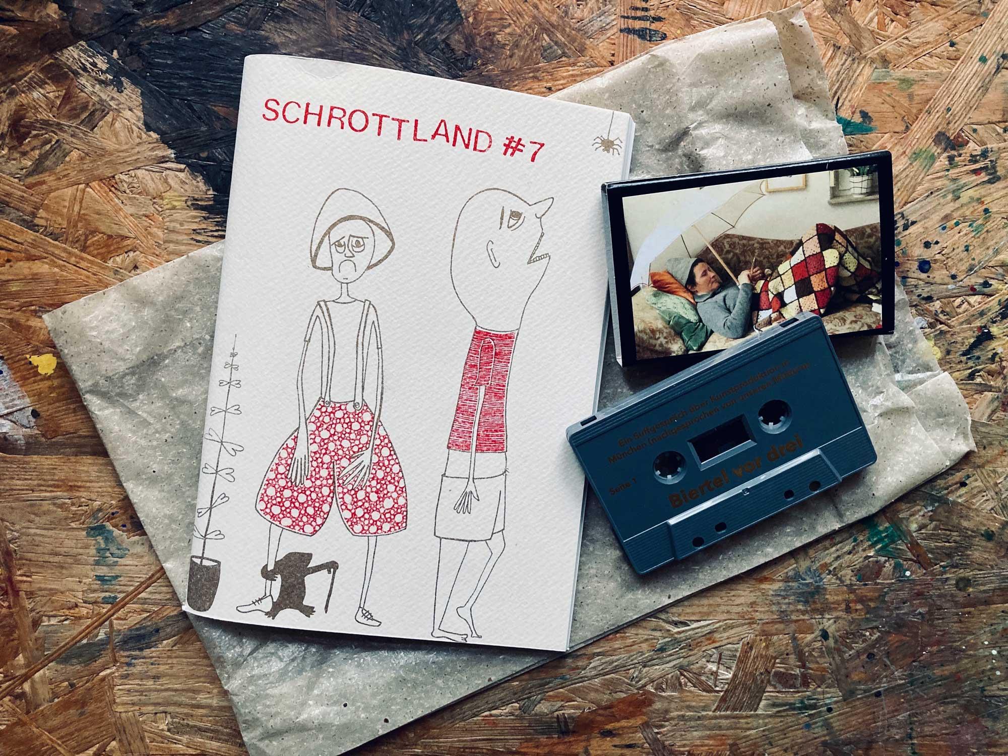 schrottland #7, Heft und Kasette